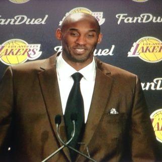 Kobe Bryant Press Conference At Wells Fargo Center December 1, 2016