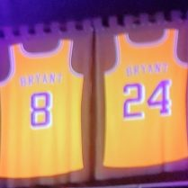 Kobe Bryant Team Jerseys Number 8 and 24