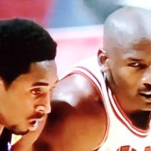 Kobe Bryant and Michael Jordan On The Court