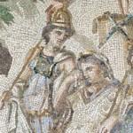 social media crop from the Judgement of Paris, c. 115–150 AD, [Public Domain] via Creative Commons