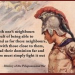 Thucydides on national defense quotepic