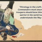 Miyamoto Musashi on strategy quotepic