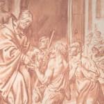 social media crop Thomas of Villanova, Archbishop of Valencia, Distributing Alms to the Poor, by Pedro Orrente (1580–1645), [Public Domain] via Creative Commons