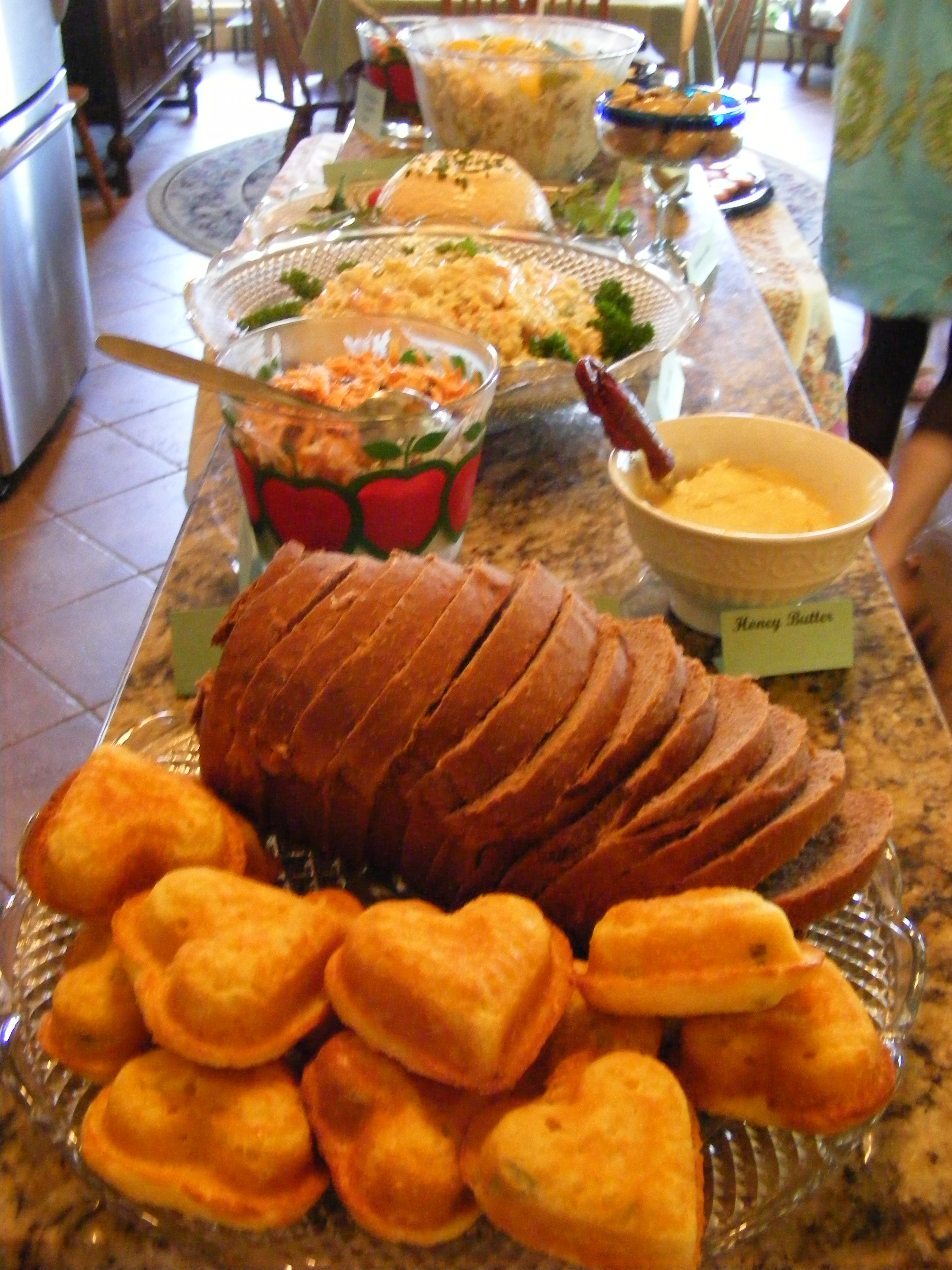 Breads and salads