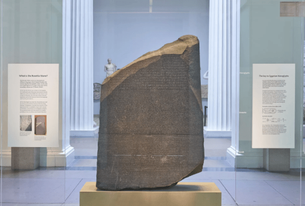 The Rosetta Stone- Etched in the aeons of history