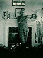 George Bernard Shaw at Shaw's Corner. © LSE