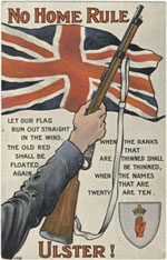An Ulster No Home Rule Poster