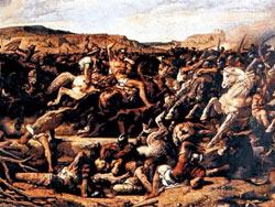 La Bataille de Cannes - François-Nicolas Chifflart (1863)