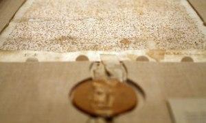 Rare Copy Of Magna Carta