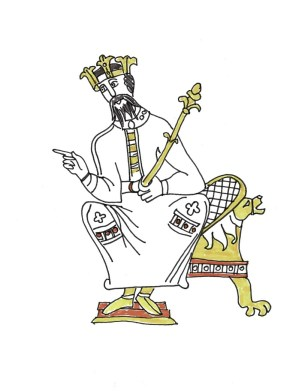 Edward the confessor drawn