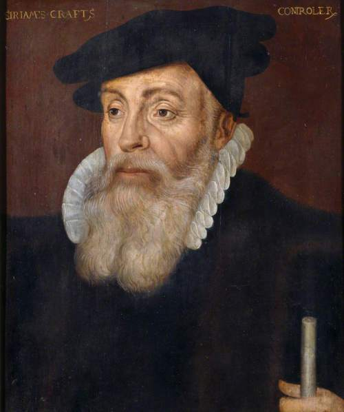 British (English) School; Sir James Croft (c.1518-1590), Comptroller of the Queen's Household