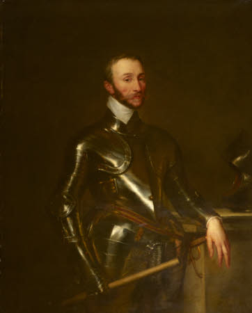Henry Percy, 8th Earl of Northumberland (c.1532-1585) (posthumous) by Sir Anthony Van Dyck (Antwerp 1599 - London 1641)