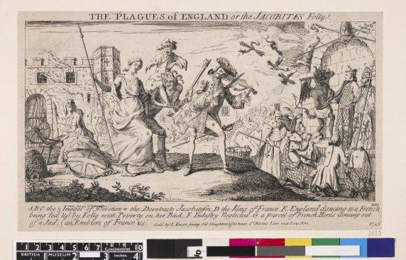 1745 etching