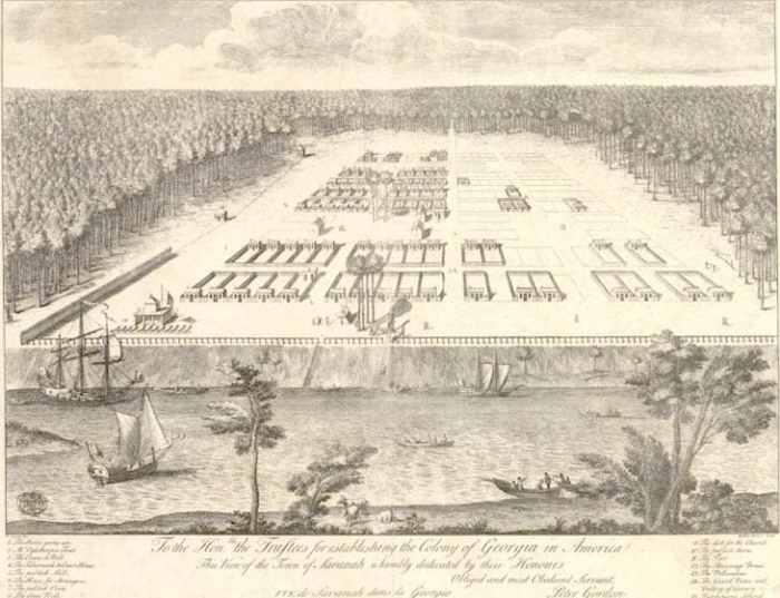 Georgia Colony Facts