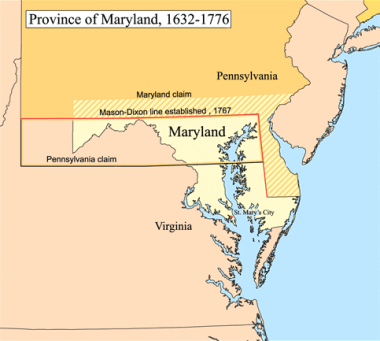 Maryland Colony Facts