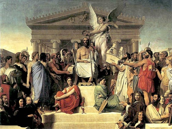 olympian gods and goddesses chart