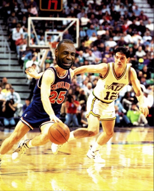 1997 Jazz vs Lebron's Cavs