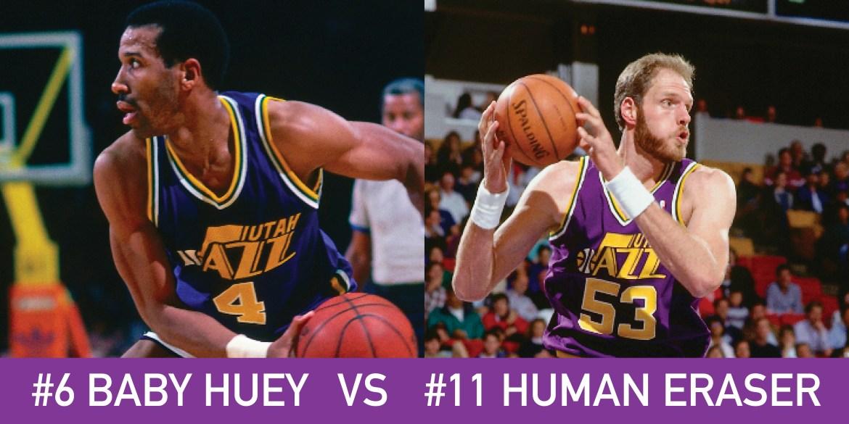 Utah March Madness: 6 Baby Huey vs 11 Human Eraser