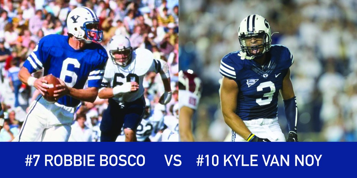 Utah March Madness: 7 Robbie Bosco vs 10 Kyle Van Noy