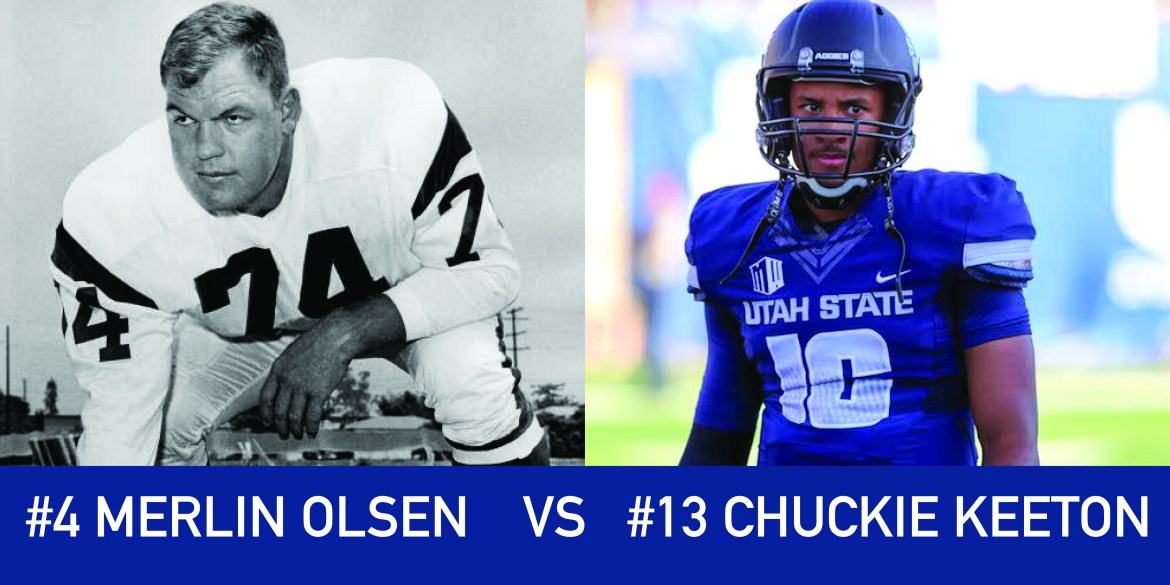 Utah March Madness: 4 Merlin Olsen vs 13 Chuckie Keeton