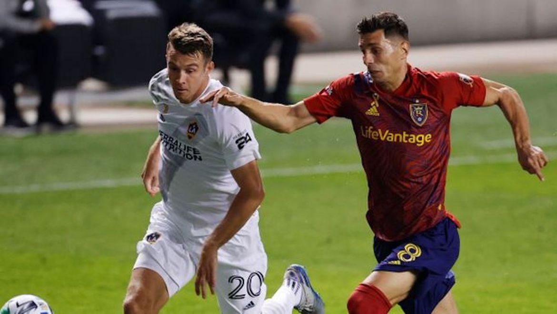 RSL dominates Galaxy in 2-0 home win