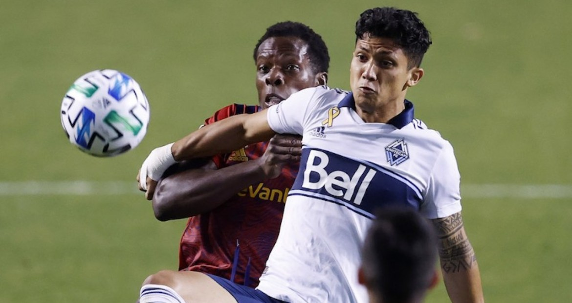 RSL suffers loss to Whitecaps