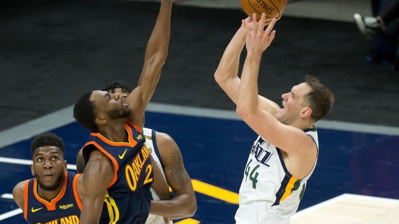 Game Recap: Jazz Fall to Warriors despite historic night from Gobert