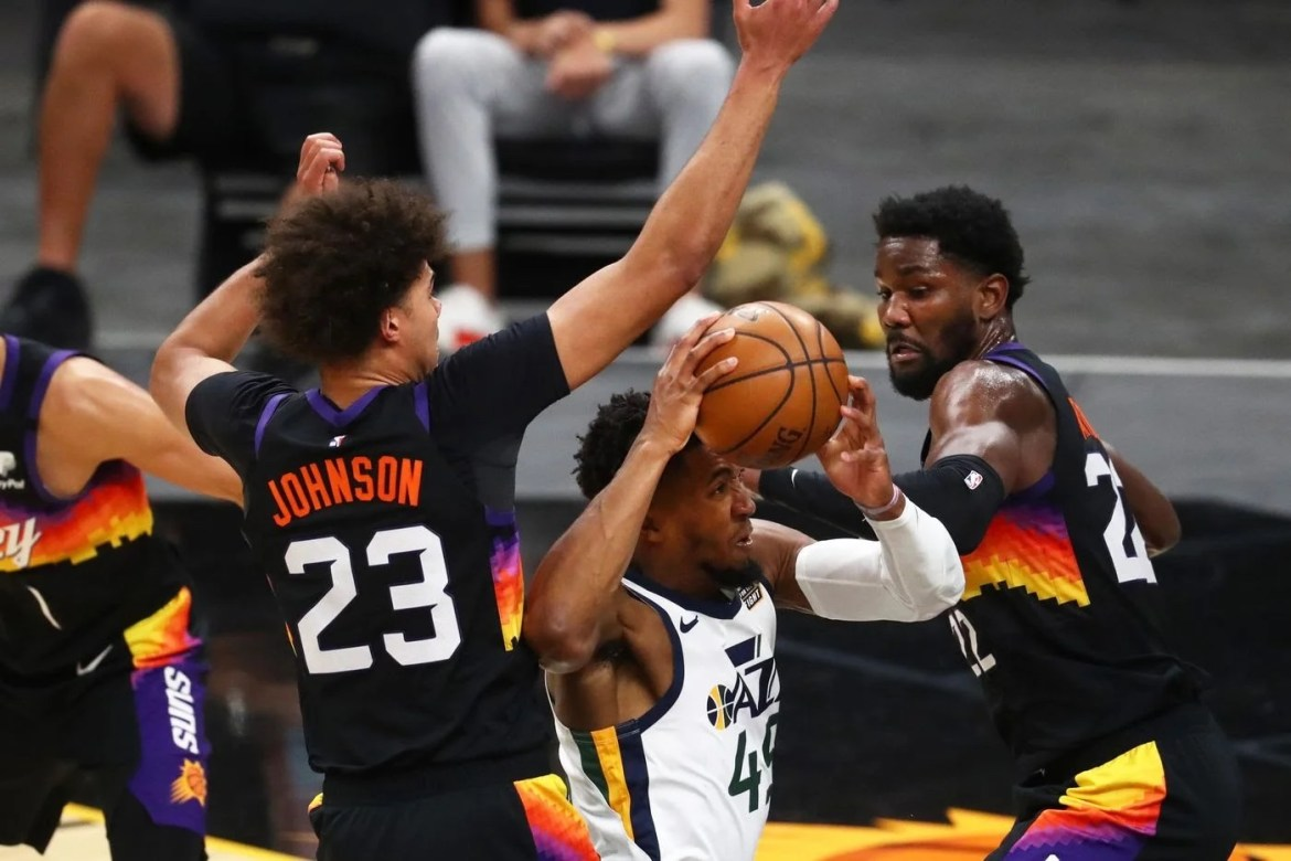 Game Recap: Jazz lose to Suns but Donovan Mitchell sends game to overtime