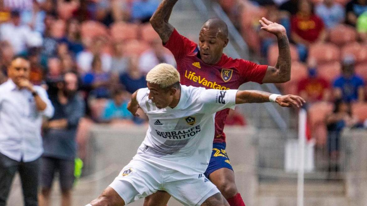 Real Salt Lake and LA Galaxy end match in draw