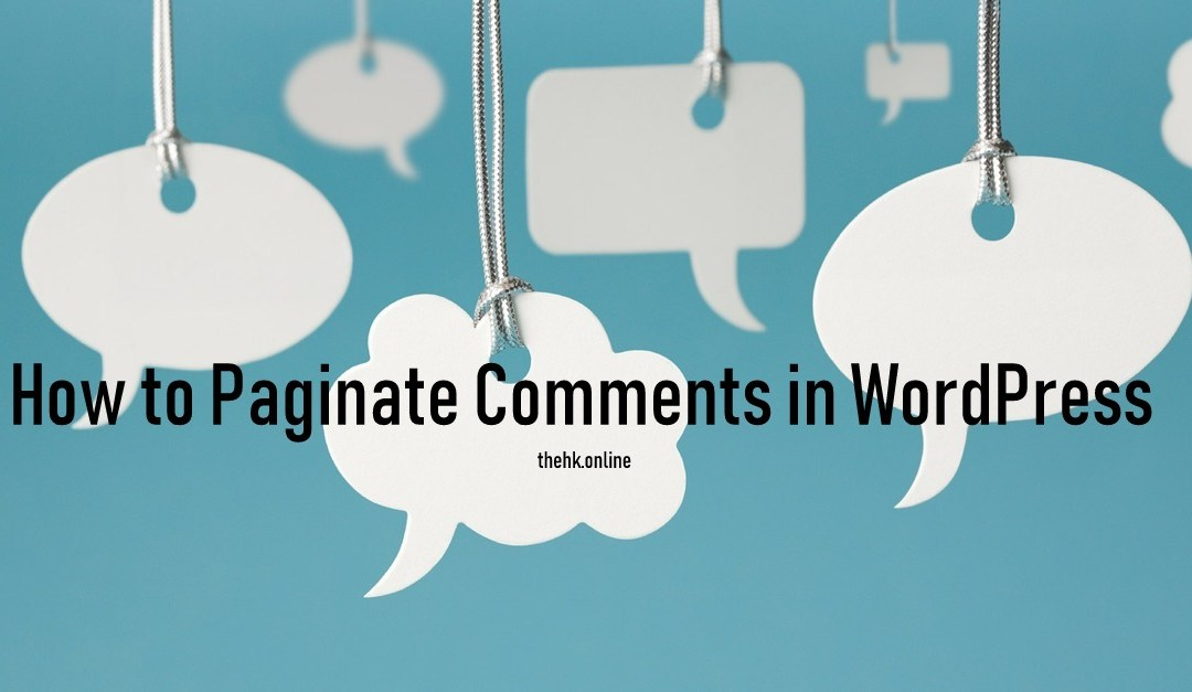 How to Paginate Comments in WordPress to Improve SEO
