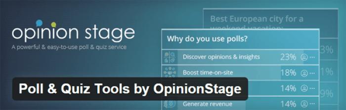 Opinion Stage WordPress Plugin