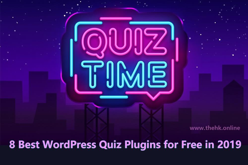 8 Best WordPress Quiz Plugins for Free in 2019