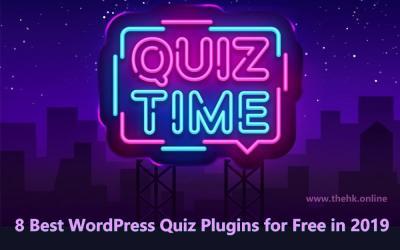 8 Best WordPress Quiz Plugins for Free in 2019