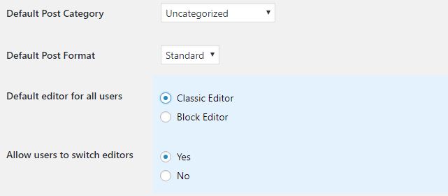 How to Disable Gutenberg Editor