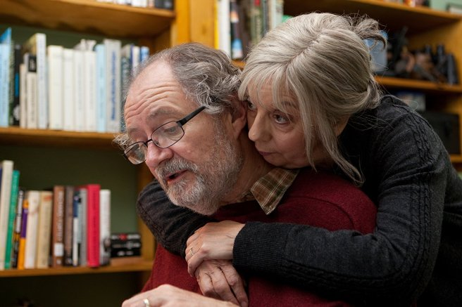 Ruth Sheen and Jim Broadbent
