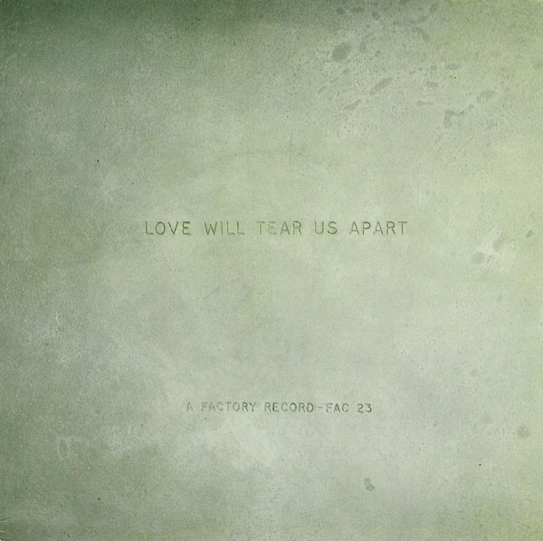 Joy Division ‎– Love Will Tear Us Apart cover