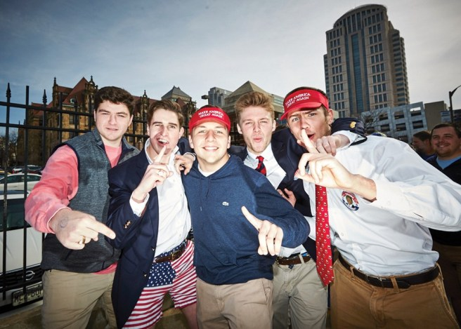"""After Trump's 2016 St. Louis rally, Kendzior wrote, """"American history is filled with ordinary people doing unspeakable things."""" - THEO WELLING"""