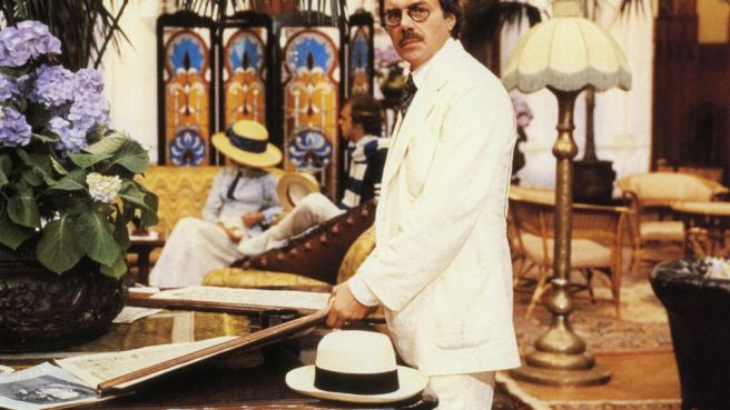 The troubling Death in Venice saw Bogarde play a sickly composer indulging a silent obsession with a teenage boy (Credit: Alamy)