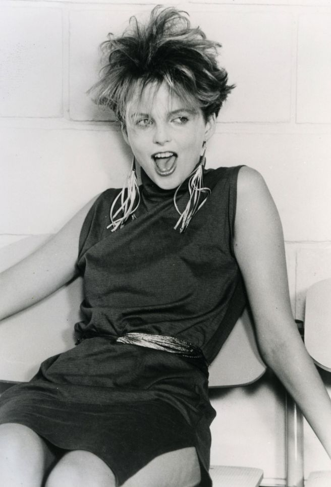 ALTERED IMAGES Promotional photo of lead singer Clare Grogan of 1980s Scottish New Wave group