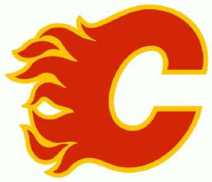 Image result for calgary flames logo