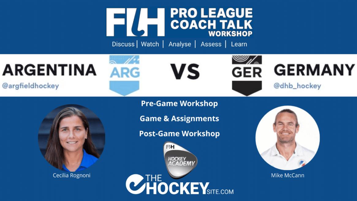 FIH Pro League Coach Talk workshop