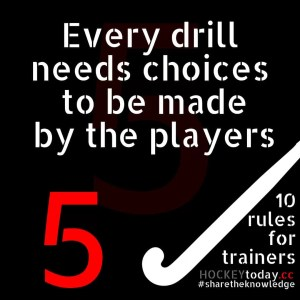 10 rules for trainers - rule 5