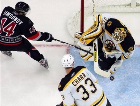 Sergei Samsonov, Boston Bruins