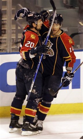 David Booth Richarad Zednik Florida Panthers