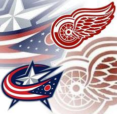 NHL Playoffs Round 1 ~ Columbus Blue Jackets vs. Detroit Red Wings
