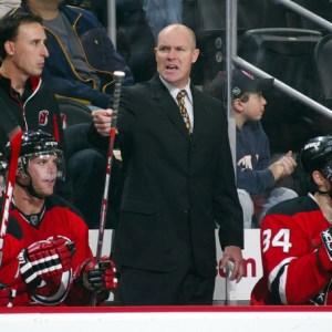 Devils head coach John MacLean