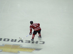 Beauchemin #23 Team Canada Red And White Scrimmage {Photo by Chris Ralph}