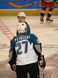 Nick Petrecki, Sharks 1st round pick 2007
