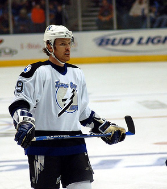 Richards spent an extended time in junior hockey before making an immediate impact with the Lightning. (Photo courtesy of kaatiya/ Flikr.)
