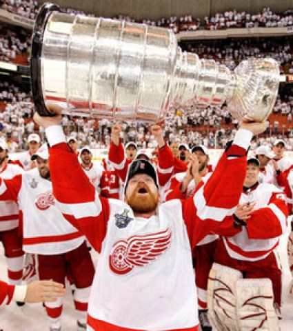 Kris Draper Stanley Cup